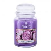 Price´s Candles Damson Rose vonná svíčka 630 g