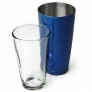 Professionel Boston Cocktail Shaker Blå