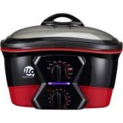 Ilo 187141001 Rice Cooker, Air Fryer, Deep Fryer, Egg Cooker, Food Steamer(5 L, Red, Black, Pack of 4)