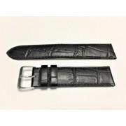 SZ2117 20mm fekete színű óraszíj