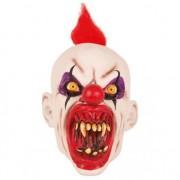 Geen Latex horror masker enge clown punky