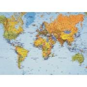 Harta plastifiata, Lumea politica, 200 x 120cm, AMCO PRESS