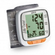 Tensiometru electronic de incheietura Little Doctor LD 12, detectare aritmie, indicator WHO
