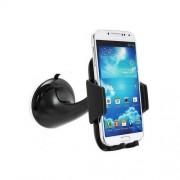 Support pour smartphone spécial voiture noir avec ventouse compatible Apple Iphone 7