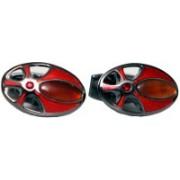 Blacksmithh Metal Cufflink(Red)