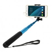 Shop4 - Compacte Selfiestick - Blauw