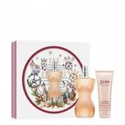 Jean Paul Gaultier Classique Eau de Toilette de Jean Paul Gaultier Coffret Perfume Feminino oferta Loção 100+75ml