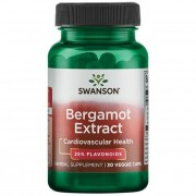 Swanson Bergamot Extract 30 kapslí