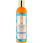 Balsam nutritiv si regenerant cu ulei de catina pentru par deteriorat - efect de laminare