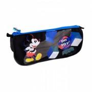 Penar etui triunghiular Pigna Mickey Mouse albastru-negru MKPE1916-2