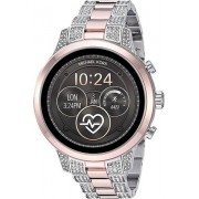 Michael Kors Access MKT5056 Runway Smart Watch - Two Tone Rose Gold/Silver