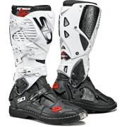 Sidi Crossfire 3 Motocross Boots Black White 46