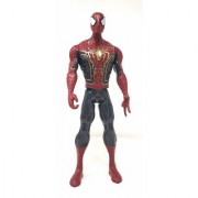 SHRIBOSSJI Spiderman Avengers Infinity War Action Figure With Light Effects And Sounds (Multicolor)