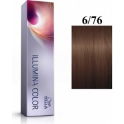 Wella Professionals Vopsea permanenta Wella Professionals Illumina Color 6/76 Blond Inchis Maro Violet 60ml
