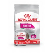 Royal Canin Mini Exigent Starter kit: 1 kg granule + 2 x 85 g hrană umedă