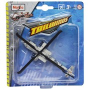 Maisto Tailwinds Ah-64 Apache without Stand (Grey)