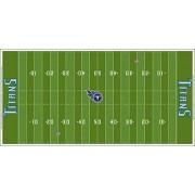 Tudor Games Tennessee Titans NFL Cubierta de Campo 91,4 x 45,7 cm, Grande para Modelo 9092