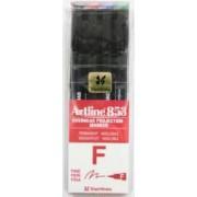 OHP Permanent marker ARTLINE 853 varf fin - 0.5mm 4 culori-set - BK.RE.BL.GR