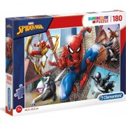 Puzzle Clementoni SuperColor Marvel Spider-man, 180 piese