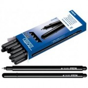 Tratto Pen penna nero confezione 12 penne