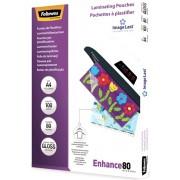 Folie laminare A4, 80 microni, 100 folii/cut, FELLOWES Enhance80