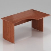 Rauman Ergonomický stůl Visio 160 x 100 cm, pravý calvados
