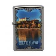 Zapalovač Zippo 25468 Bratislava Castle + Možnosť GRAVÍROVANIA + Benzín Zadarmo