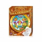 Set creatie pentru pictura Orange Elephant Sea fashion