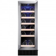 Amica AWC300SS Wine Cooler - Stainless Steel