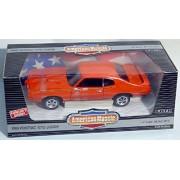 ERTL 1/18 1969 Pontiac GTO Judge CAROUSEL RED Orange American Muscle #7467