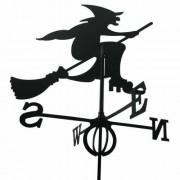 Svens Girouette sorcière en fer forgé grand modèle