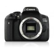 Canon Camara digital reflex canon eos 750d body (solo cuerpo) cmos/ 24.2mp/ digic 6/ tactil
