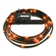 Cablu NZXT Sleeved LED Kit Orange 24x LED 2m, CB-LED20-OR