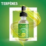 Greeneo E-liquide au CBD 50 mg et aux terpènes de cannabis Pineapple Express (Greeneo)