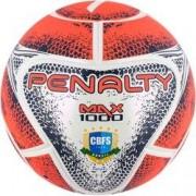 Penalty Bola de Futsal Penalty Max 1000 VIII - Coral/Branco