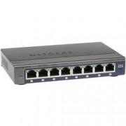 Netgear Síťový switch NETGEAR, GS108E-300PES, 8 portů, 1 GBit/s