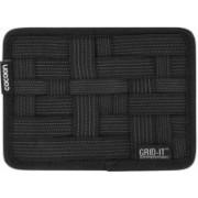 SUKHAD Vehicle Storage Plate Grid it Electronics Cosmetics Tool(Black)
