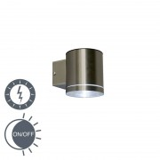 Ranex Wall Lamp Eta Steel LED Solar