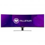 "Millenium 49 49"" QLED HDR Super UltraWide 32/9 144Hz Curvo"