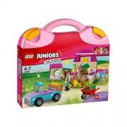 Set de constructie LEGO Juniors Valiza de Ferma a Miei