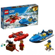 LEGO City Police Wild River Escape Building Blocks for Kids 5 to 12 Years (126 Pcs) 60176