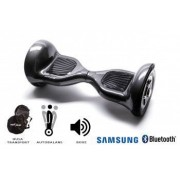 Hoverboard Smart Balance TM Premium Brand Off Road Carbon roti 10 inch Bluetooth baterie Samsung Boxe incorporate AutoBalans Geanta