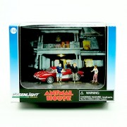 1959 CHEVROLET CORVETTE & 3 MINI FIGURES from the classic film ANIMAL HOUSE Greenlight Collectibles GL Hollywood...