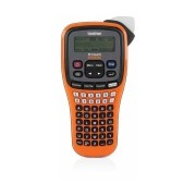 Brother Rotulador P-touch EDGE PT-E100, Transferencia Térmica, 180 x 180 DPI, Negro/Naranja