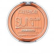 SUN GLOW MATT bronzing pudră #035-universal bronze 9,5 gr