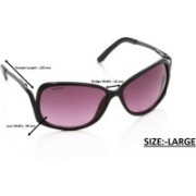 Fastrack Over-sized Sunglasses(Violet)