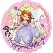 Balon folie Sofia the First Happy Birthday 43cm