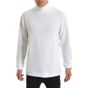 Blench Knitted Polo White S