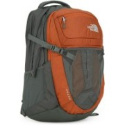 The North Face RECON 31 L Laptop Backpack(Orange, Grey)