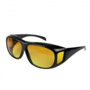 HD Wrap Real Club Night Vision Night Driving Glasses Pack of 1 In Best Price By Popularkart (AS PER SEEN ON TV)